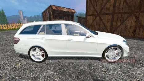 Mercedes-Benz E350 CDI Estate v1.1 для Farming Simulator 2015