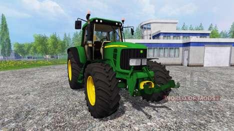 John Deere 6620 v0.8 для Farming Simulator 2015