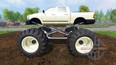 PickUp Monster Truck v1.0 для Farming Simulator 2015