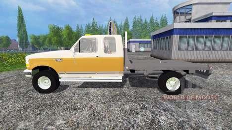 Ford F-150 [flatbed] для Farming Simulator 2015