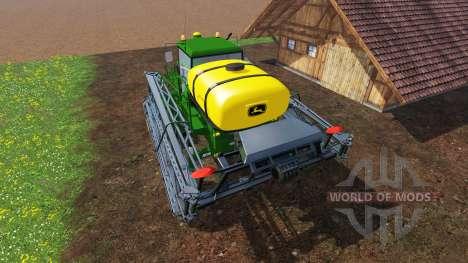 John Deere 4730 Sprayer v2.5 для Farming Simulator 2015
