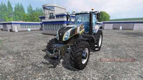 New Holland T8.435 [camo] для Farming Simulator 2015