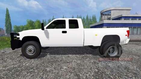 Chevrolet Silverado Duramax для Farming Simulator 2015
