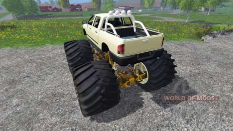 PickUp Monster Truck [super diesel] для Farming Simulator 2015