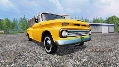 Chevrolet C10 Fleetside 1966 v1.3 для Farming Simulator 2015