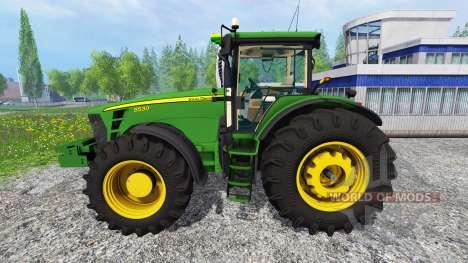 John Deere 8530 [EU] v2.0 для Farming Simulator 2015