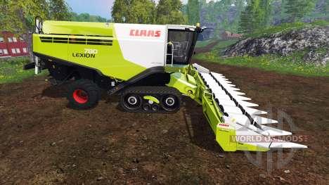 CLAAS Lexion 780TT v1.4 для Farming Simulator 2015