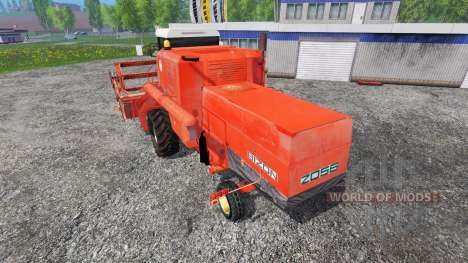 Bizon Z056 [red] для Farming Simulator 2015