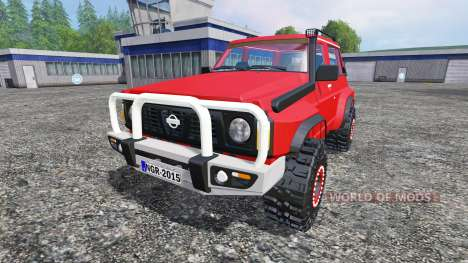 Nissan Patrol GR для Farming Simulator 2015