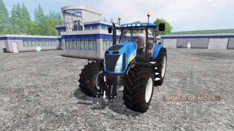 New Holland T8020 v4.0 для Farming Simulator 2015