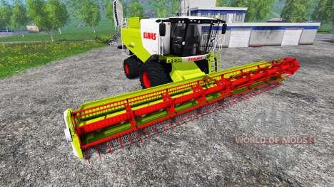 CLAAS Lexion 750 v1.1 для Farming Simulator 2015
