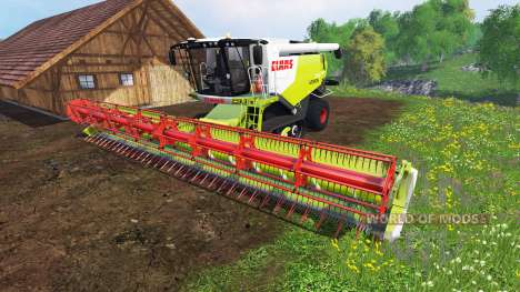 CLAAS Lexion 770TT v1.2 для Farming Simulator 2015