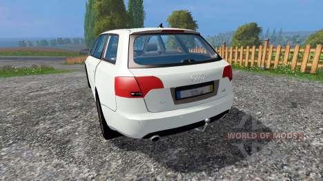 Audi A4 Avant Quattro v1.1 для Farming Simulator 2015