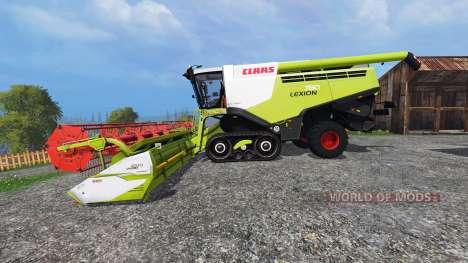 CLAAS Lexion 780TT v1.1 для Farming Simulator 2015