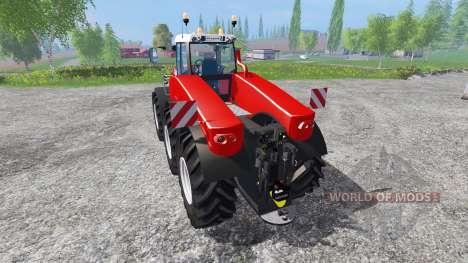 Fendt TriSix Vario v3.0 [red edition] для Farming Simulator 2015
