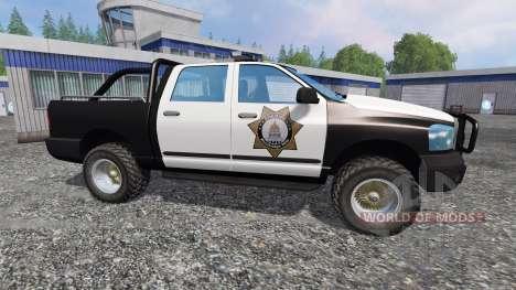 PickUp Sheriff v2.0 для Farming Simulator 2015