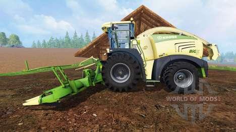Krone Big X 580 для Farming Simulator 2015
