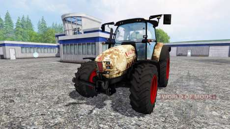 Hurlimann XM 4Ti camouflage v4.0 для Farming Simulator 2015
