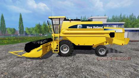 New Holland TC54 v1.5 для Farming Simulator 2015
