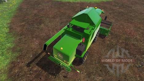 John Deere W540 v2.0 для Farming Simulator 2015