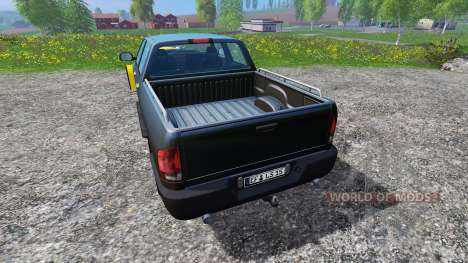 Dodge Pickup [snowplow] v2.1 для Farming Simulator 2015