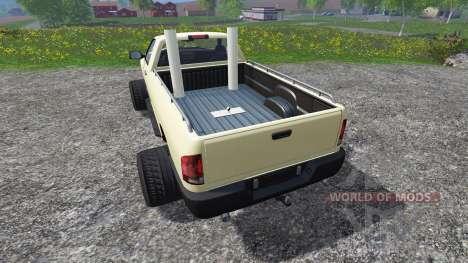 PickUp [weekend truck] v1.1 для Farming Simulator 2015