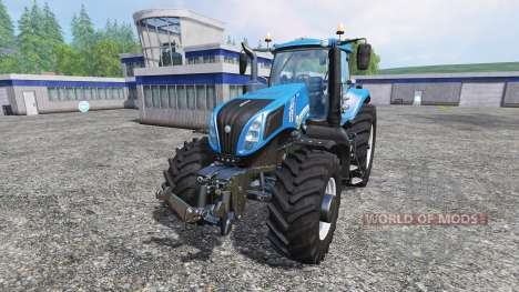 New Holland T8.435 v0.2 для Farming Simulator 2015