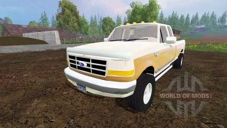 Ford F-150 XL 1992 v1.1 для Farming Simulator 2015