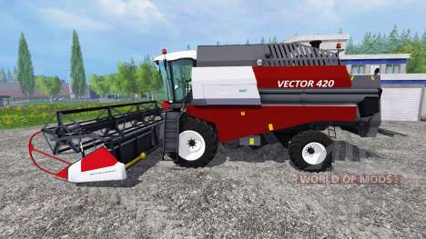 Вектор 420 для Farming Simulator 2015