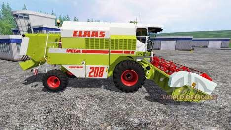 CLAAS Mega 208 для Farming Simulator 2015
