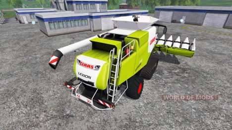 CLAAS Lexion 770TT v1.1 для Farming Simulator 2015