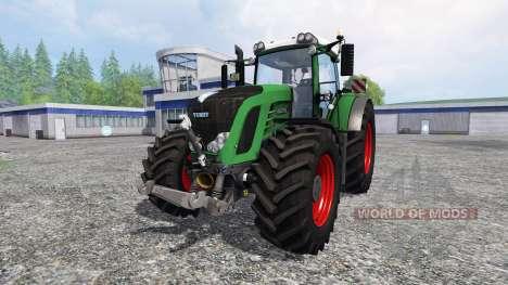 Fendt 936 Vario SCR v5.0 для Farming Simulator 2015
