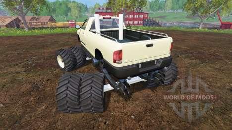 PickUp Monster Truck для Farming Simulator 2015