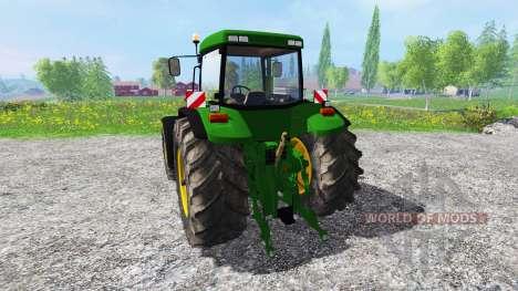 John Deere 8110 v2.0 для Farming Simulator 2015
