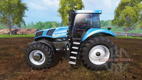 New Holland T8.320 v1.0 для Farming Simulator 2015