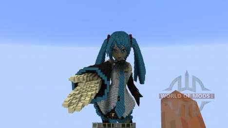 Hatsune Miku для Minecraft
