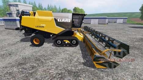 CLAAS Lexion 770 [USA Edition] для Farming Simulator 2015