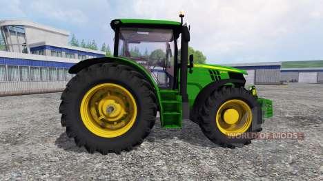 John Deere 6170R v2.3 для Farming Simulator 2015