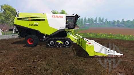 CLAAS Lexion 780TT [pack] для Farming Simulator 2015