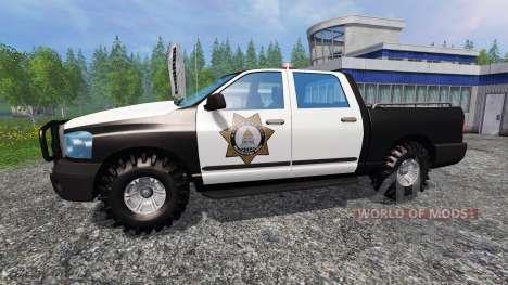 PickUp Sheriff для Farming Simulator 2015