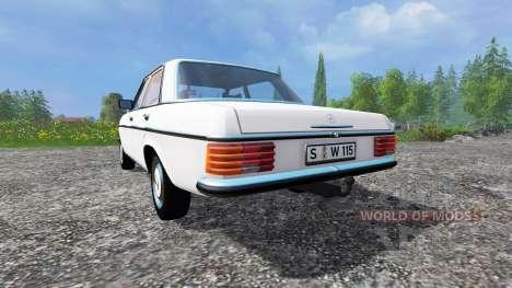 Mercedes-Benz 200D (W115) 1973 для Farming Simulator 2015