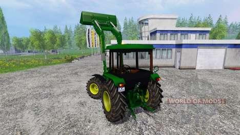 John Deere 2850A для Farming Simulator 2015