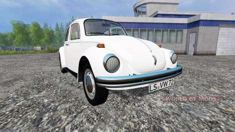 Volkswagen Beetle 1973 v1.1 для Farming Simulator 2015
