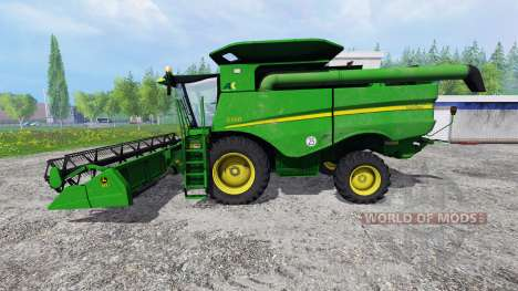 John Deere S660 для Farming Simulator 2015
