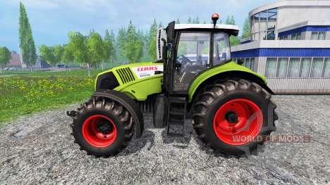CLAAS Axion 830 для Farming Simulator 2015