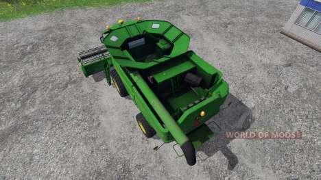 John Deere S660 v1.1 для Farming Simulator 2015