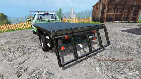 PickUp Flatbed для Farming Simulator 2015