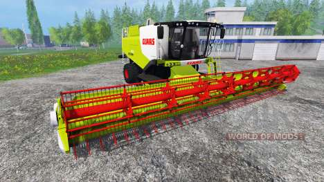 CLAAS Lexion 750TT v1.2 для Farming Simulator 2015