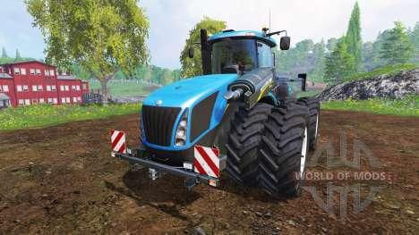 New Holland T9.700 [dual wheel] v1.1.1 для Farming Simulator 2015