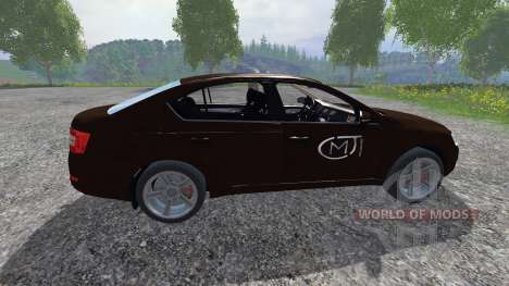 Skoda Octavia III для Farming Simulator 2015